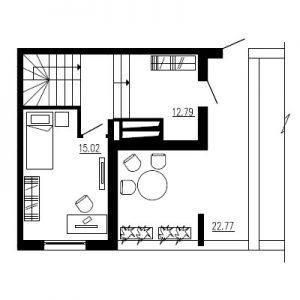 Трехкомнатная квартира Тип4 (10 этаж)